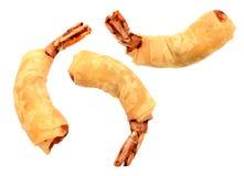 Shrimp rolls Stock Photography