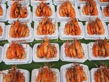 Shrimp's here, shrimp's there, shrimp's everywhere Stock Photos