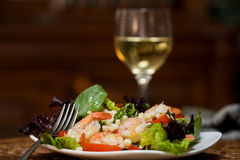 Free Shrimp Salad Stock Image - 19493171
