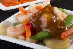 Shrimp Salad Stock Photography