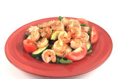 Shrimp Salad  Royalty Free Stock Photo