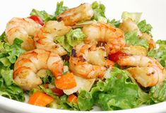 Free Shrimp Salad Royalty Free Stock Photos - 6068808