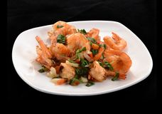 Shrimp salad. Royalty Free Stock Images