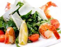 Shrimp salad,menu Stock Photo