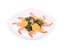 Shrimp salad Stock Image