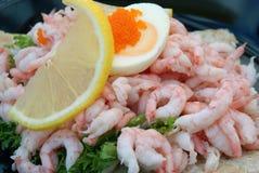 Shrimp sandwich Royalty Free Stock Photography