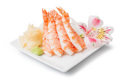 Shrimp sashimi Royalty Free Stock Photography