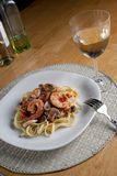 Shrimp Scampi Royalty Free Stock Images