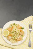 Shrimp Scampi Royalty Free Stock Image
