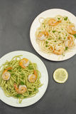 Shrimp Scampi Stock Photos