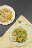 Shrimp Scampi Royalty Free Stock Photography