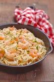 Shrimp Scampi Stock Photography