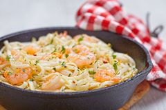 Shrimp Scampi Stock Images