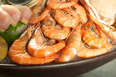 Shrimp Seafood Royalty Free Stock Photo
