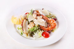 Shrimp and seafood slice Royalty Free Stock Photos