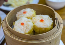 Shrimp Shumai. Shrimp Shumai ready to serve and enjoy eating  for lunch Stock Photo