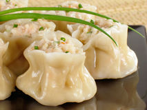 Shrimp Siu Mai Stock Photo
