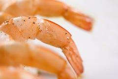Shrimp skewers Royalty Free Stock Photo