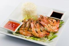 Free Shrimp Skewers Royalty Free Stock Photo - 28149295