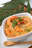Shrimp soup Royalty Free Stock Images