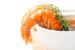 Shrimp Soup Royalty Free Stock Photos