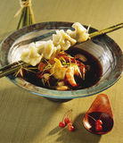 Shrimp soup Royalty Free Stock Images