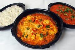 Shrimp soup ( moqueca de camarão) Royalty Free Stock Images
