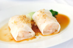 Shrimp Spring Rolls Stock Image
