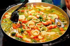 Shrimp stew Royalty Free Stock Images