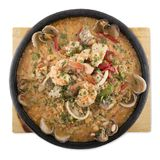 Shrimp Stew sea products Karides güveç Royalty Free Stock Image