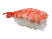 Shrimp sushi Stock Images