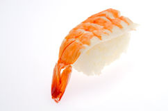 Shrimp sushi Royalty Free Stock Image