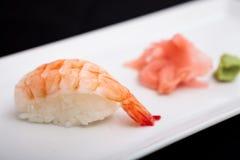 Shrimp sushi Royalty Free Stock Photos