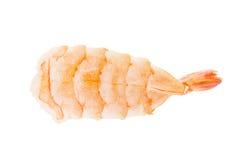 Shrimp sushi. Isolated on white background Royalty Free Stock Image