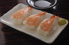 Shrimp Sushi Stock Photo