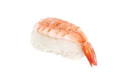 Shrimp Sushi. Japanese traditional suhi with shrimp Stock Photography
