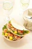 Shrimp Taco stock photography