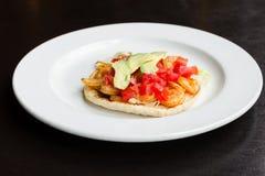 Shrimp taco Royalty Free Stock Photo