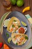 Shrimp Tacos Royalty Free Stock Photo