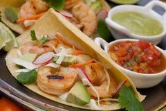 Shrimp Tacos Royalty Free Stock Photography