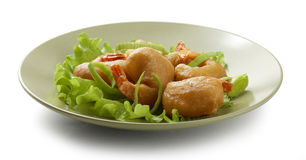 Shrimp tempura Royalty Free Stock Images