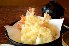 Shrimp Tempura. Stock Photography