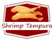 Shrimp tempura Royalty Free Stock Images