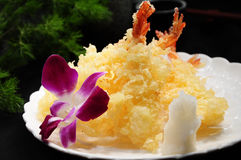 Shrimp tempura Stock Photo