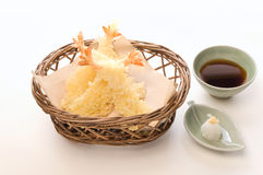 Shrimp Tempura A La Larte Stock Photo