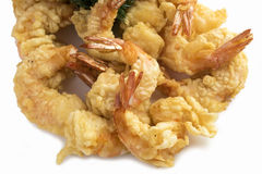 Shrimp tempura. Stock Photos