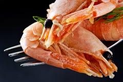 Shrimp Time Stock Photo