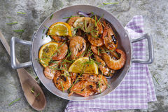Shrimp to the stew Stock Photos