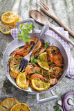 Shrimp to the stew Stock Photography