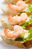 Shrimp toasts Stock Photo